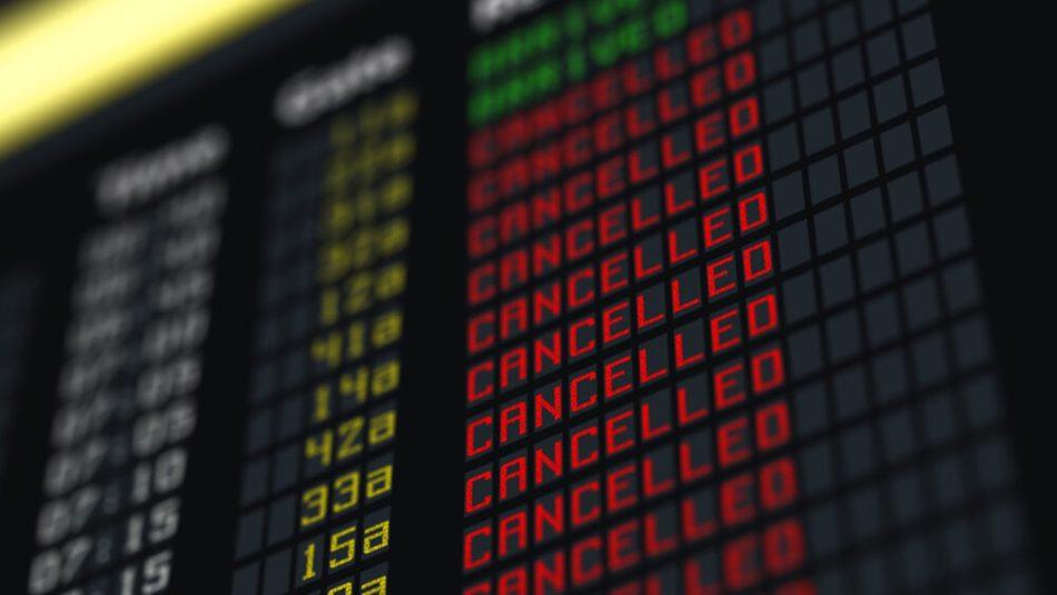 6. Flight cancellation board 2