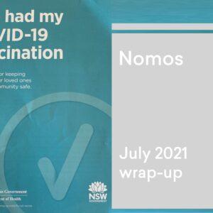 July 2021 wrap-up